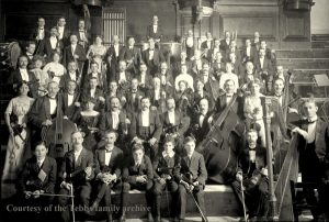 The inaugural concert at the new De Montfort Hall: 18 September 1913