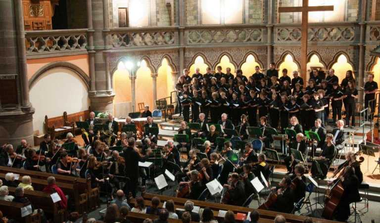 The concert in the Eglise St. Paul