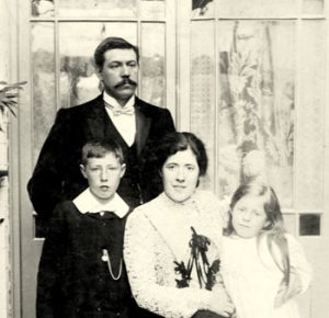 George Tebbs with young family