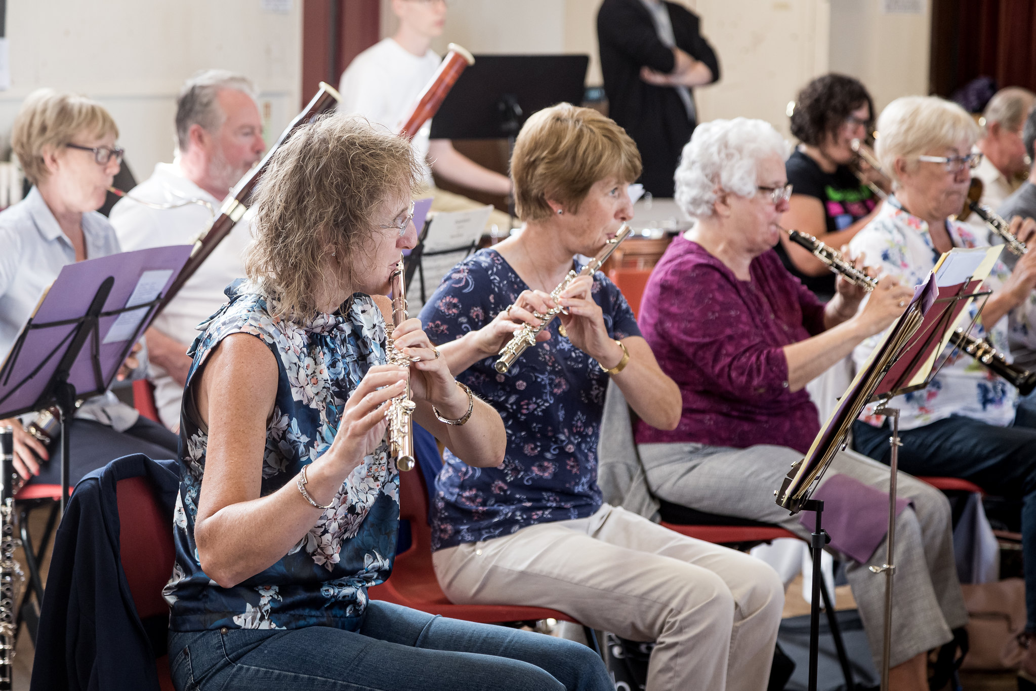 LSO rehearsals 01Sept19