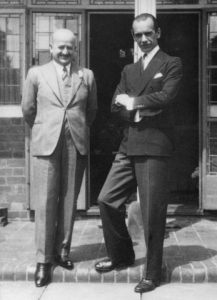 Karl Russell and Malcolm Sargent : 1940