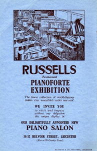Russells Pianoforte Exhibition