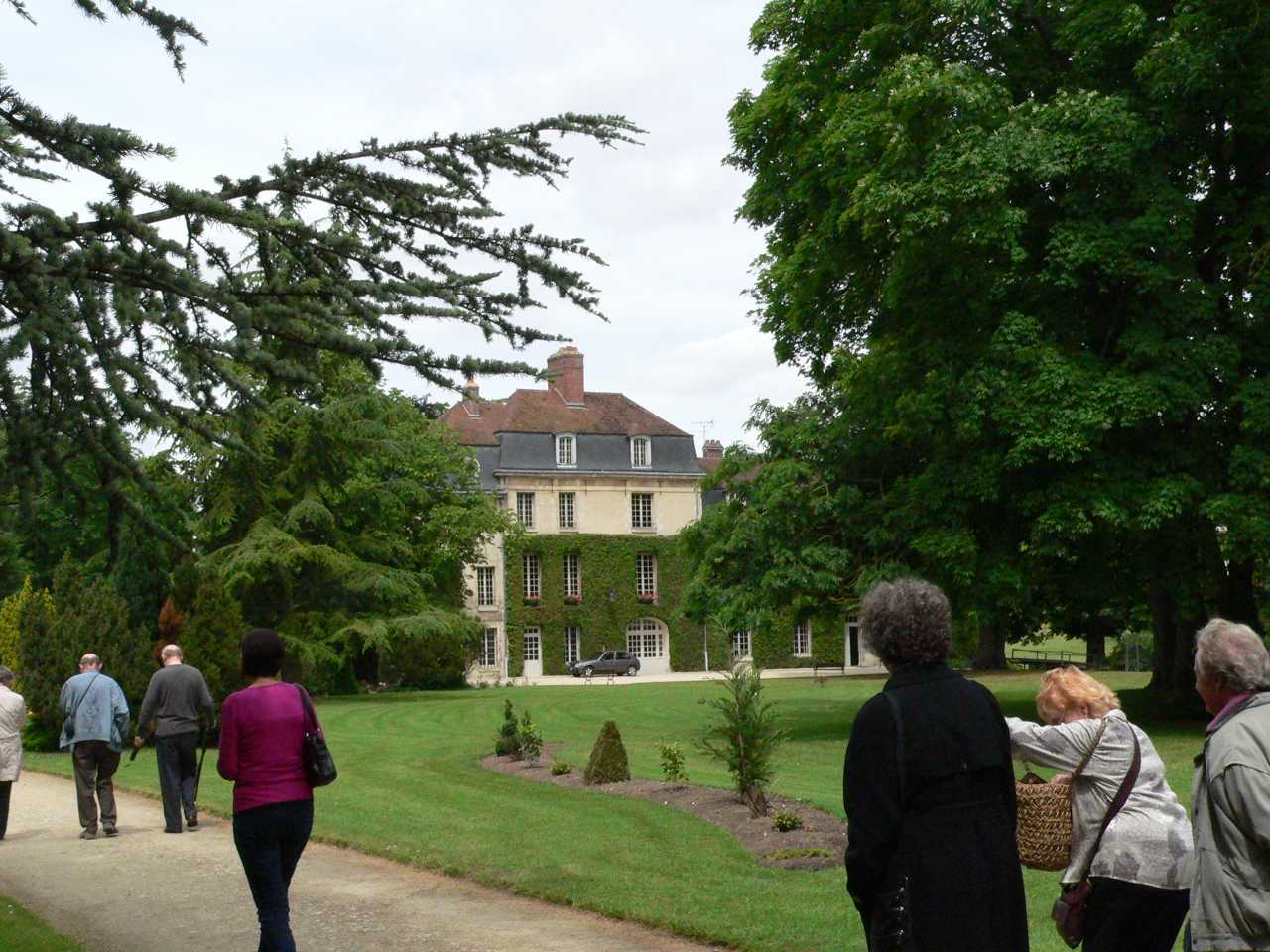The venue of the reception lunch arranged by our hosts in Compiègne