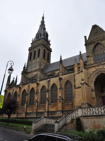 The Basilique Notre Dame d'Esperance in Charleville-Mézières